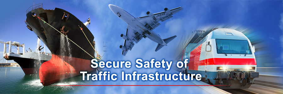Secure Safety of Traffic Infrastructure